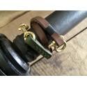 Leather lanyard